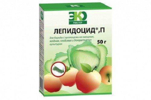 Лепидоцид - препарат против огородных вредителей