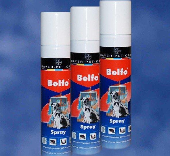 Спрей Bolfo для собак