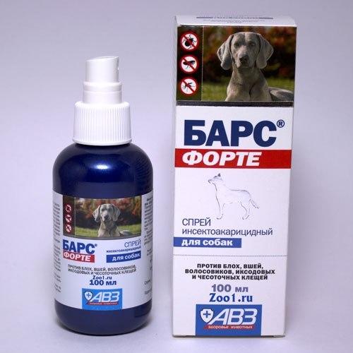 Спреи против клещей для собак