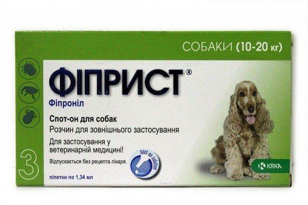 Растворы для опрыскивания против клещей у собак