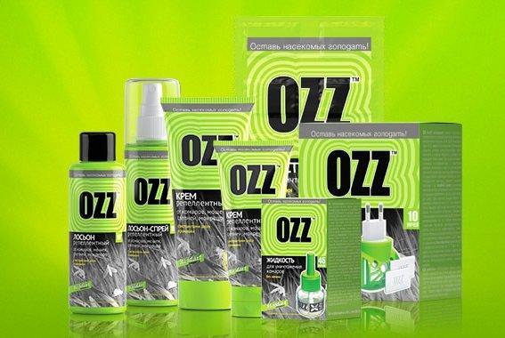 """Средства от комаров фирмы """"OZZ"""""""