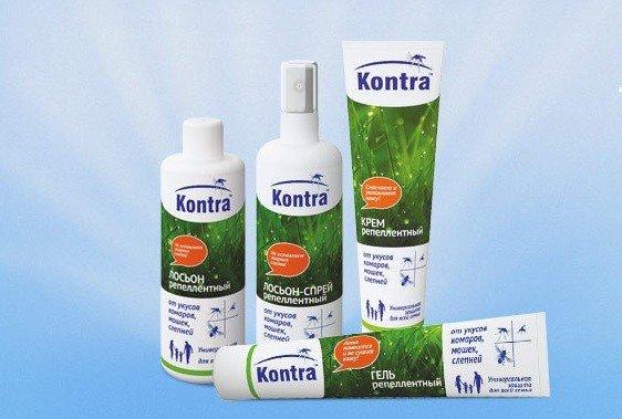 """Средства от комаров фирмы """"Kontra"""""""