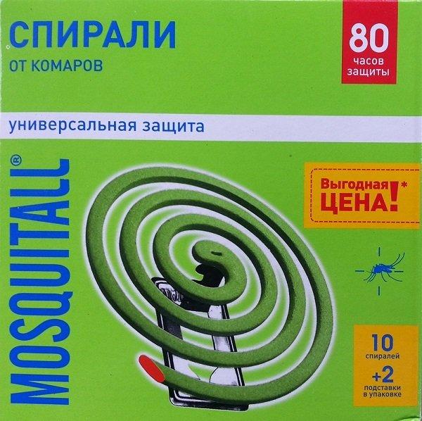 "Спирали от комаров ""Москитол"""