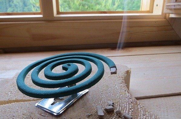 В помещении спираль должна тлеть не более 15 минут