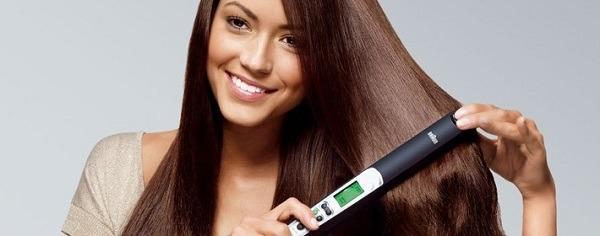 Утюжок для волос поможет избавиться от вшей и гнид