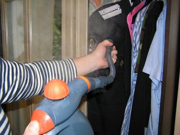 Обработка одежды пароочистителем поможет уничтожить вшей и гнид