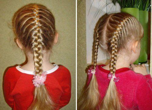 Плетение кос поможет защитить голову от попадания вшей