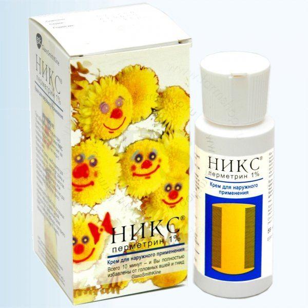"""Крем """"Никс"""" - эффективное средство против вшей и гнид"""