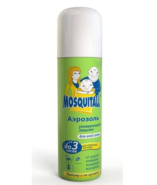 Спреи против комаров имеют отпугивающее действие