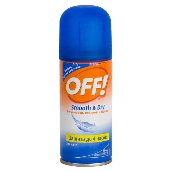 """Спрей от комаров """"Оff"""""""